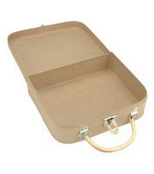 Darice 10''x8''x3'' Paper Mache Box