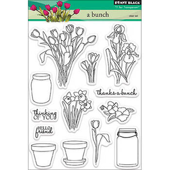 Penny Black Clear Stamps Sheet A Bunch