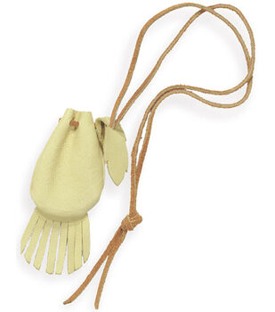 """Tandy Leather Factory Native Heritage Kit-Medicine Pouch 2""""X3"""""""