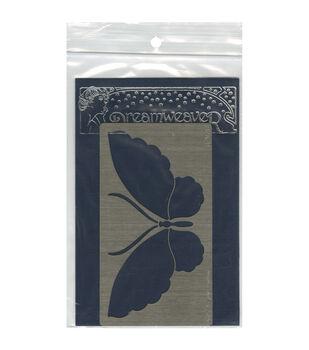 Stampendous Dreamweaver Metal Zen Butterfly Stencil