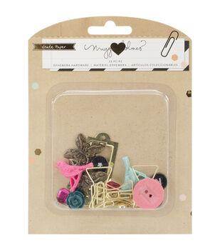 Crate Paper Maggie Holmes Confetti Ephemera Hardware Embellishments