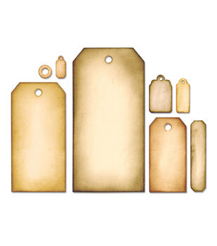 Sizzix Framelits By Tim Holtz Tag Collection Dies