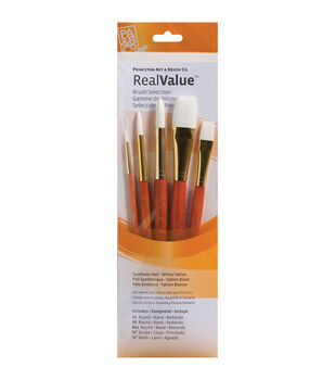 Princeton Synthetic White Taklon Brush Set