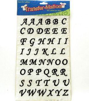 Transfer-Mation Iron-On Art Capital Alphabet