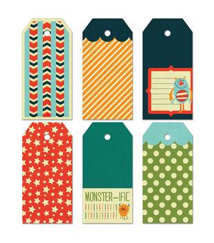 Fancy Pants Large 6/Pk - Be Different Decorative Tags