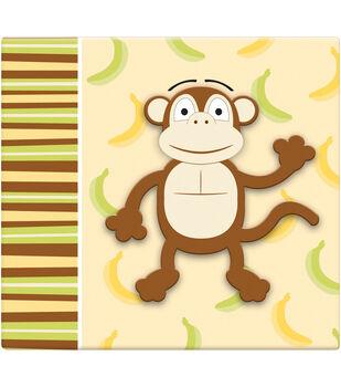 """3D Scrapbook 12""""x12-Monkey"""