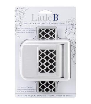 Little B Edge Punch-Moroccan Window