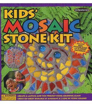 Milestones Kids Mosaic Stone Kit