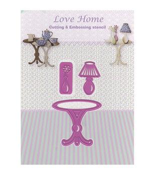 Joy! Crafts Cut & Emboss Love Home-Table Die
