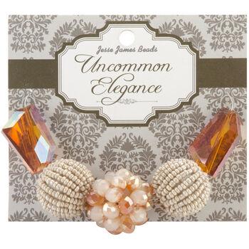 Uncommon Elegance Beads 5/Pkg-Style 14