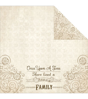 "Storybook Double-Sided Cardstock 12""X12""-Chapter 3"