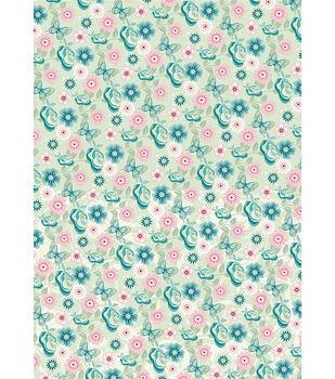 Kanban English Riviera Hvywt Background Card Sheet-Roses MANY COLORS