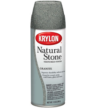 Krylon Natural Stone Textured Finish Aersol Spray,12oz