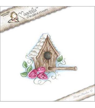 """Pink Lemonade Cling Stamp 3.75""""X6.5"""" Package-Home Tweet Home"""