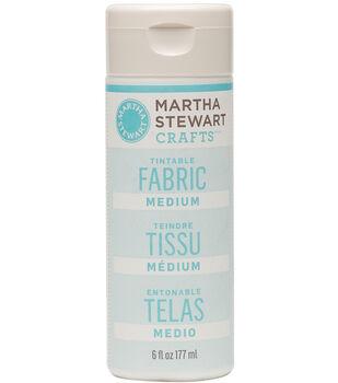 Martha Stewart 6oz Tintable Fabric Medium