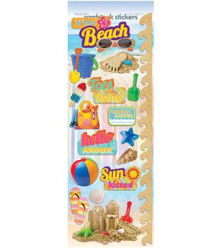 Beach Cardstock Stickers-Fun Beach 2