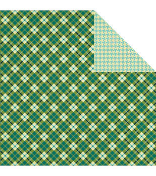 """Mr. Plaid - Be Different Double-sided Cardstock 12""""x12"""""""