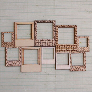 Maya Road Wood Framed Embellishments You've Been