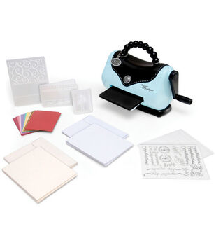 Sizzix Texture Boutique Embossing Machine Beginner's Kit