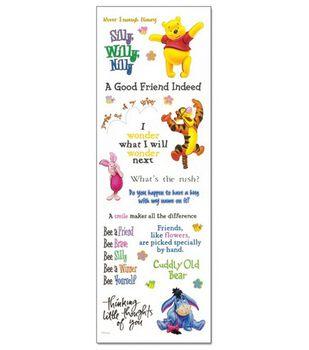 Disney Phrase Stickers-Pooh