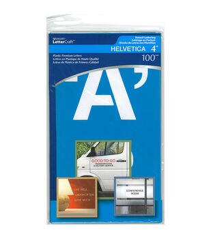 "Alphabet Stencil 4""-Helvetica Capital Letters"