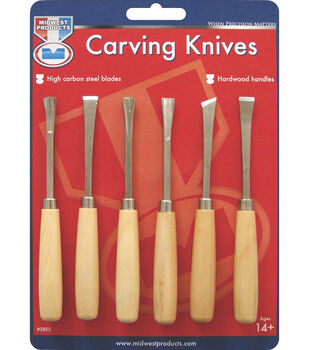 Wood Carving Set 6/Pk