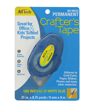 Ad-Tech Crafter's Tape Permanent Glue Runner