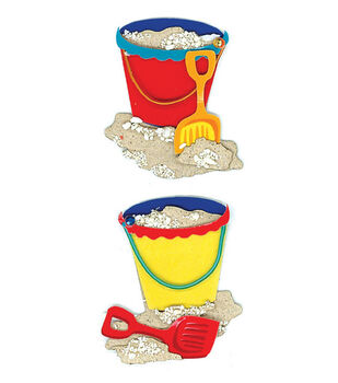 Jolee's By You Dimensional Slim Stickers-Pails