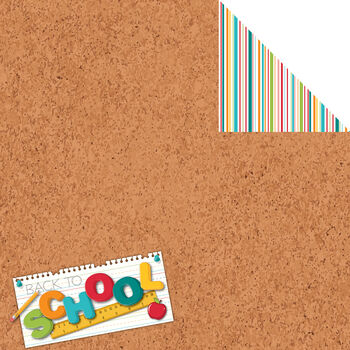 Reminisce Signature Series Back To School Double-Sided Cardstock