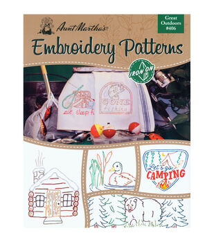 Colonial Patterns Iron-On Transfer Books The Great Outdoors