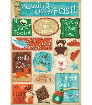 Karen Foster Baby's First Cardstock Stickers-Growing Up