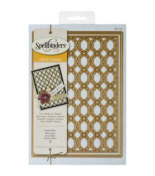Spellbinders Nestabilities Grate Effect Card Creator Dies