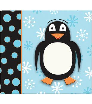 "3D Scrapbook 12""x12-Penguin"