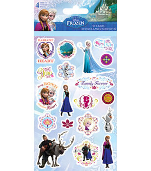 Sandylion Disney Frozen Stickers - 4 Sheets