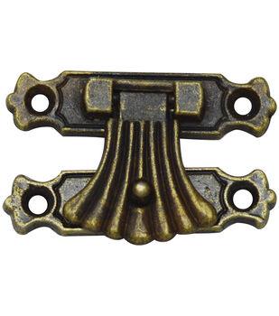 Brass embellishments 10/Pkg -Fan Catch