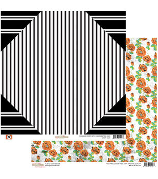 """Stripe - 77 Double-sided Heavy Weight Paper 12""""x12"""""""