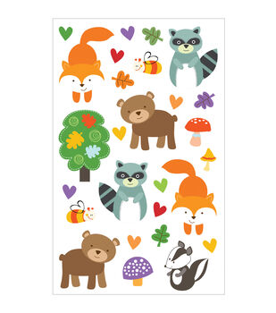 Mrs. Grossman's Forest Pals Stickers