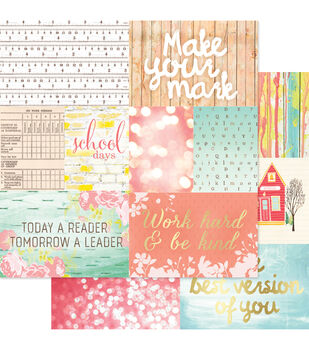 """Hall Pass Double-Sided Cardstock 12""""X12""""-Storyteller Cards 2"""