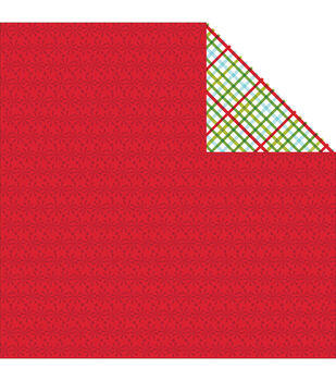 "Christmas Cheer Double-Sided Cardstock 12""X12""-Jingle All The Way"