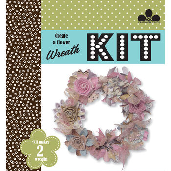 Craftwork Cards Create A Wreath Kit Vintage Chic