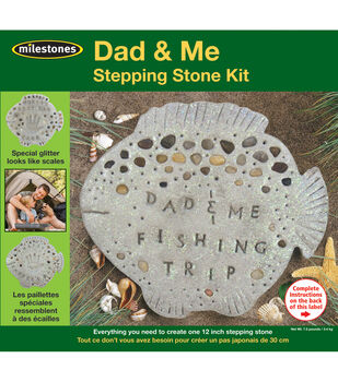 Mosaic Stepping Stone Kit-Dad