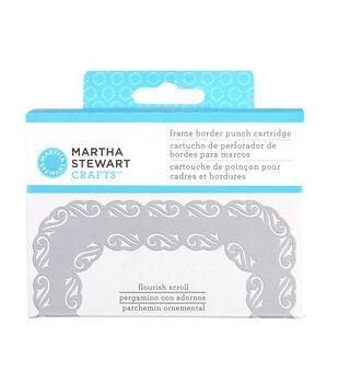 Martha Stewart Crafts Frame Border Punch Cartridge Flourish Scroll