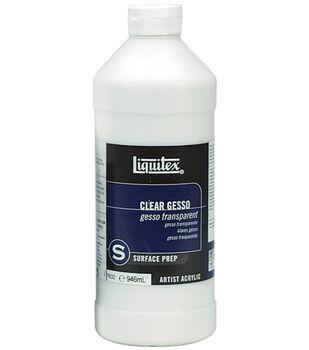 Liquitex Acrylic Clear Gesso Surface Prep-32 Ounces