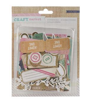 Crate Paper Craft Market Ephemera Die-Cuts