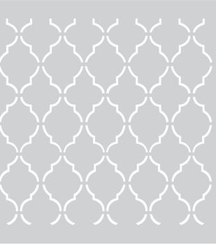 """Plastic Stencil 8""""X8""""-Screen Shape"""