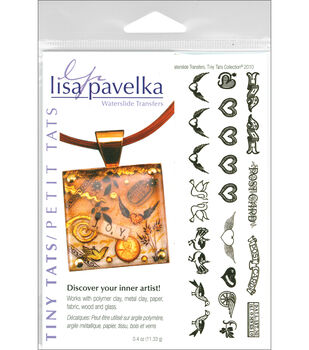 Lisa Pavelka Waterslide Transfer Set-TinyTats
