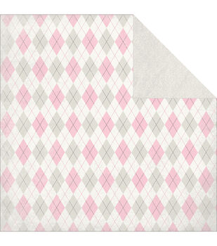 "Classique Pretty Double-Sided Cardstock 12""X12""-Diamond"