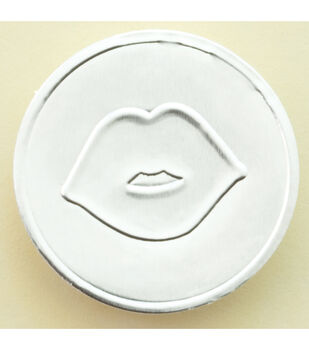 Making Memories With Love Round Seals-50PK/Kiss