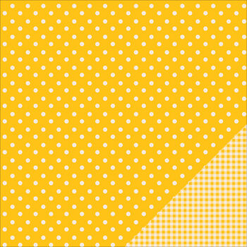 Pebbles Basics Honeycomb Dot Double-Sided Cardstock 12''x12''