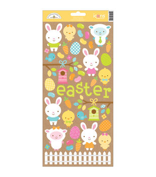"Easter Parade Cardstock Stickers 6""X13""-Icons"